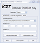 KDT Recover Product Key 1