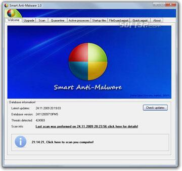 Smart Antimalware Screenshot