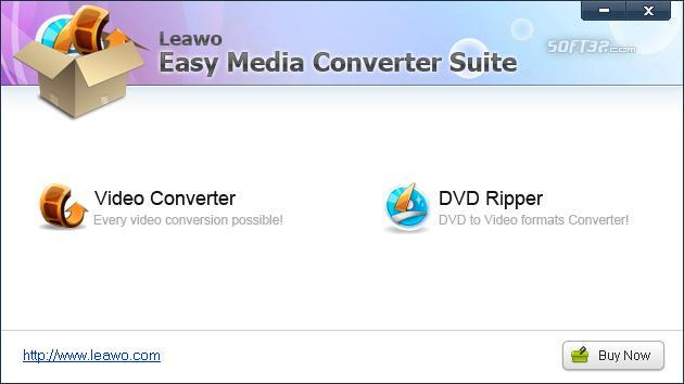 Leawo Easy Media Converter Suite Screenshot 3