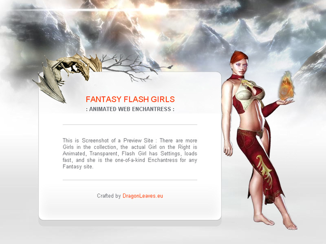 Fantasy Flash Girls Screenshot