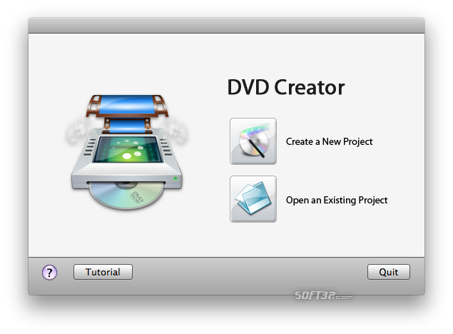 Daniusoft DVD Creator for Mac Screenshot
