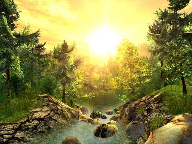 Nature 3D Screensaver Screenshot 3