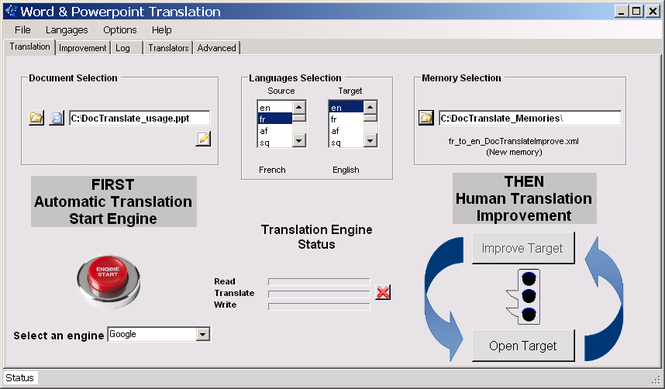 DocTranslate Screenshot