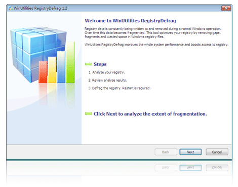 WinUtilities Free Registry Defrag Screenshot 1