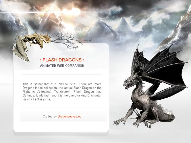 Flash Dragons Screenshot 1