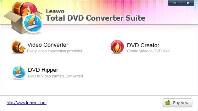Leawo Total DVD Converter Suite Screenshot 3