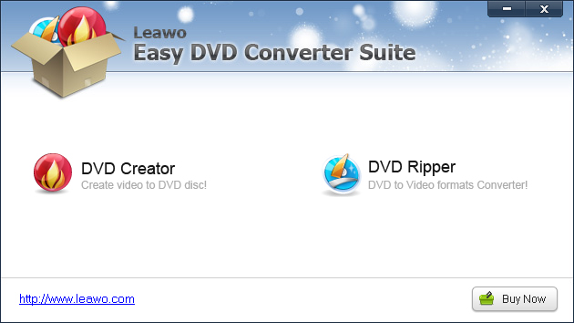 Leawo Easy DVD Converter Suite Screenshot 3