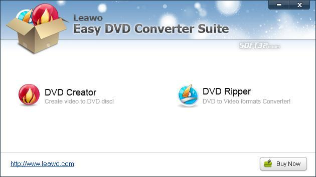 Leawo Easy DVD Converter Suite Screenshot 2