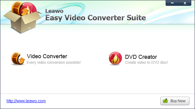 Leawo Easy Video Converter Suite Screenshot 3