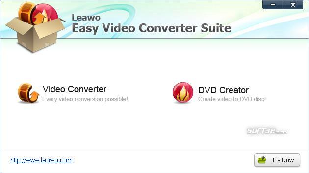 Leawo Easy Video Converter Suite Screenshot 2