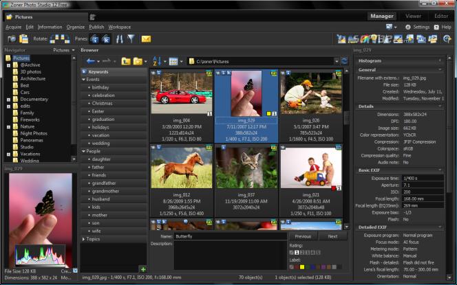 Zoner Photo Studio FREE Screenshot 2