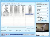 DDVideo Google Video Converter Gain Screenshot 1