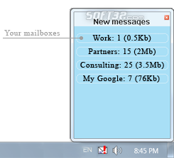 MailReporter Screenshot