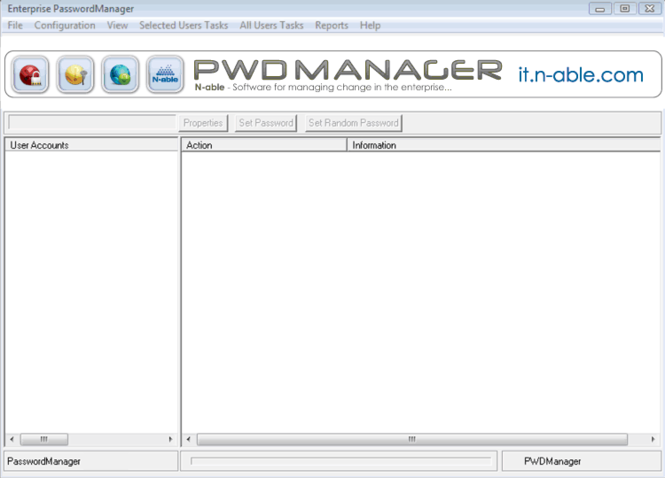 N-able PWDManager Screenshot