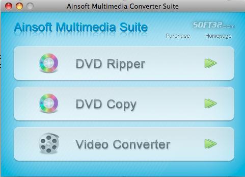 Ainsoft Multimedia Suite for Mac Screenshot 2