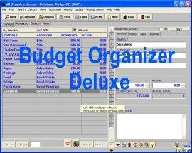 Budget Organizer Deluxe Screenshot