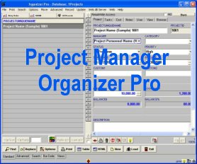 Project Manager Organizer Pro Screenshot