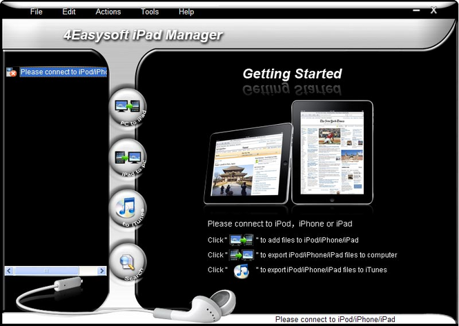 4Easysoft iPad Manager Screenshot