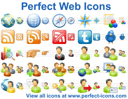 Perfect Web Icons Screenshot 1