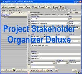 Project Stakeholder Organizer Deluxe Screenshot 3