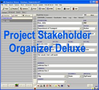 Project Stakeholder Organizer Deluxe 1