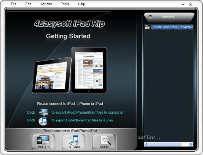 4Easysoft iPad Rip Screenshot 3