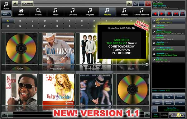 Jukebox Jockey Media Player Home Screenshot 1