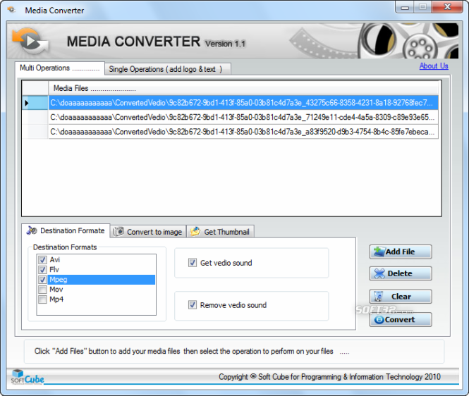 Free Media Converter Media Editor Screenshot 2