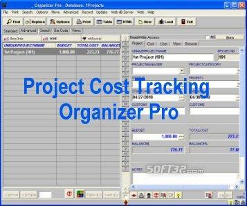 Project Cost Tracking Organizer Pro Screenshot 2