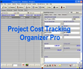 Project Cost Tracking Organizer Pro 1