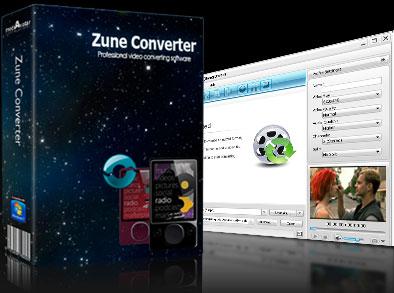 mediAvatar Zune Converter Screenshot 1