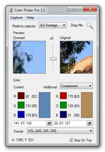 Color Picker Pro Screenshot 1