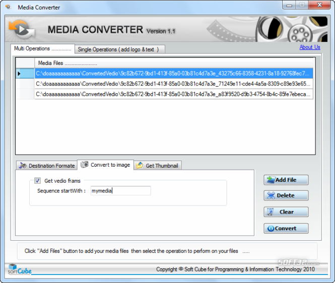 Media Converter Convert media file to any formate Screenshot 2