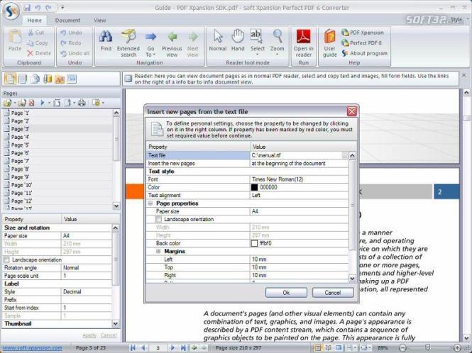 Perfect PDF 6 Converter Screenshot 3