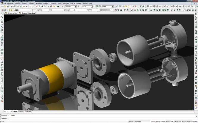 progeCAD Professional AutoCAD Clone Screenshot 1
