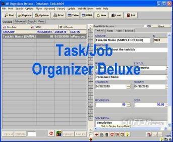 Task, Job Organizer Deluxe Screenshot 3