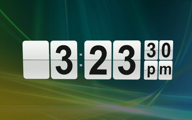3D Flip Clock Screenshot