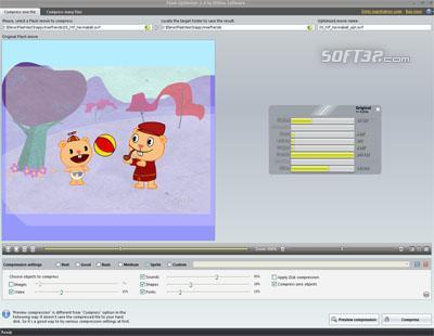 SWF Compressor Screenshot 2