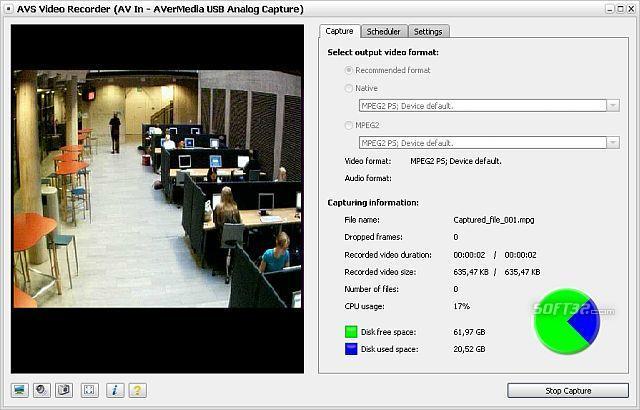 AVS Video Recorder Screenshot 2
