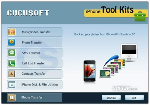 Cucusoft iPhone Tool Kits Screenshot 2