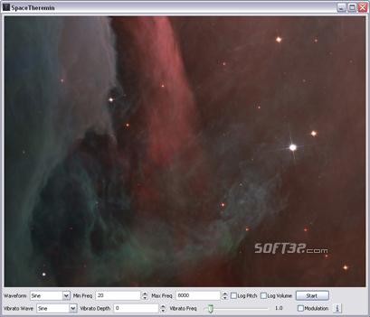 SpaceTheremin Screenshot 2