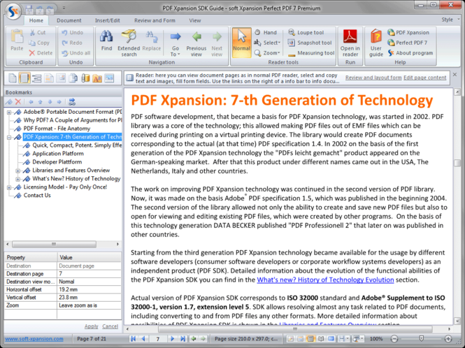 PDF Xpansion SDK Screenshot