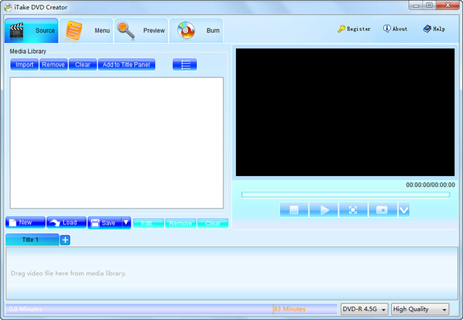 iTake DVD Creator Screenshot