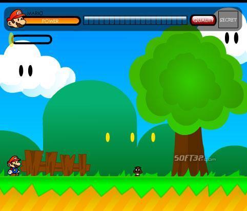 Play Super Mario: Flash Version Screenshot 3