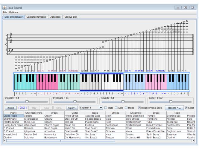 Java_Sound Screenshot 2