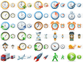 Large Time Icons 1