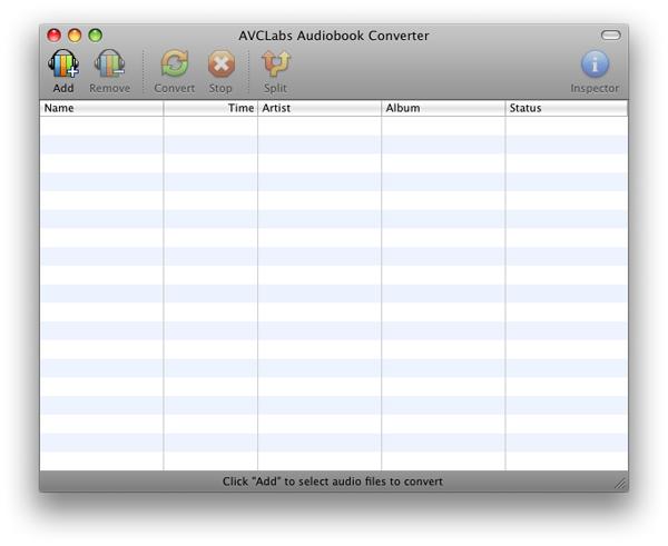 AVCLabs Audiobook Converter Screenshot 1