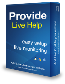 Provide Live Help Screenshot 1
