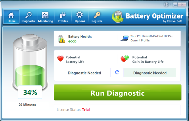 Battery Optimizer Screenshot 1