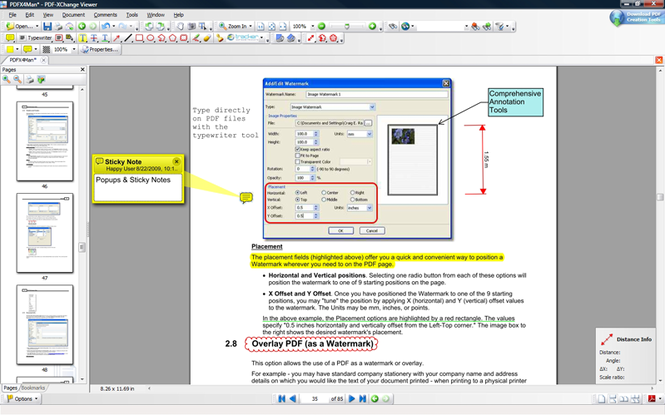 PDF-XChange Viewer SDK Screenshot